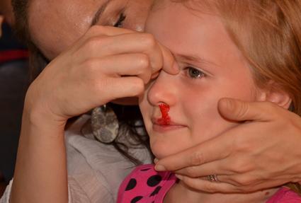blood-nose