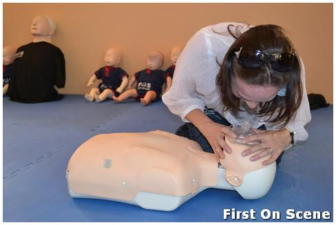 Family CPR first aid course